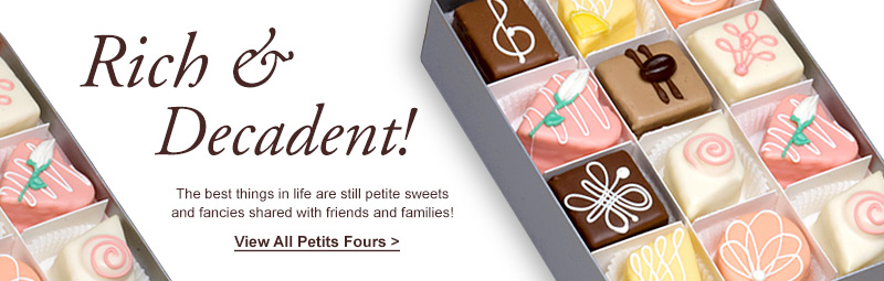Hand Made Petits Fours