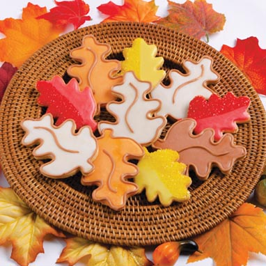Autumn Leaves Shortbread