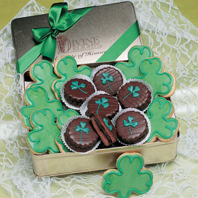 St. Patrick's Cookie Tin