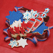 4th of July Shortbread Tin