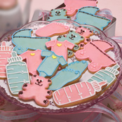 Baby Shower Shortbreads