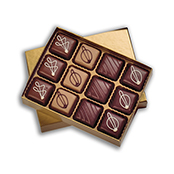Demitasse Chocolate Sampler 12ct