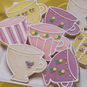 Teacup Shortbread Cookies