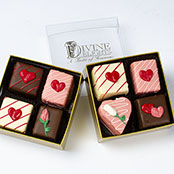 Valentine 4 Pc Boxes